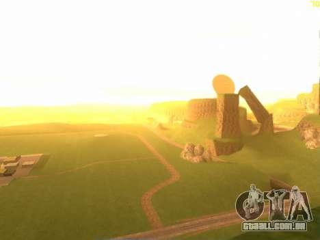 Verde deserto de Las Venturas v2.0 para GTA San Andreas segunda tela