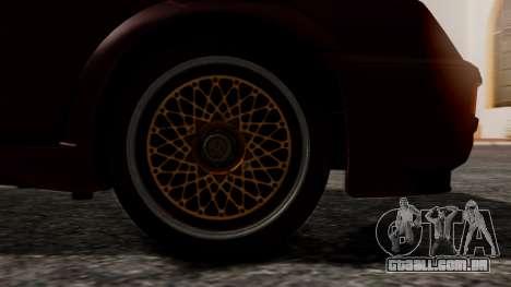 Ford Sierra RS500A para GTA San Andreas traseira esquerda vista