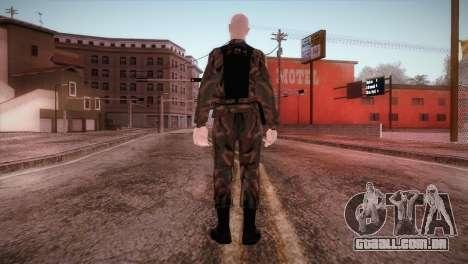 Shaved Soldier para GTA San Andreas terceira tela