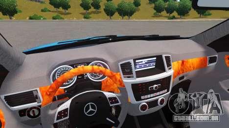 Mercedes-Benz GL 63 AMG para GTA 4 vista direita