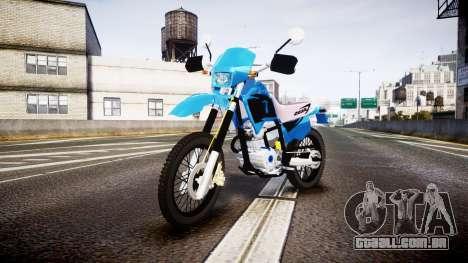 Honda XR 200 para GTA 4