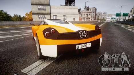 GTA V Pegassi Osiris para GTA 4 traseira esquerda vista