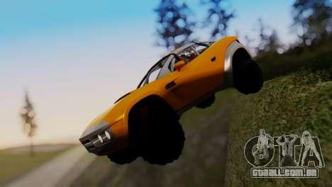 Coil Brawler Gotten Gains para GTA San Andreas vista interior