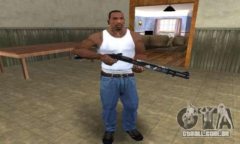 Sportive Shotgun para GTA San Andreas segunda tela