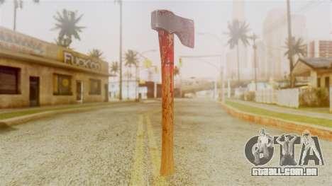 GTA 5 Hatchet v2 para GTA San Andreas segunda tela
