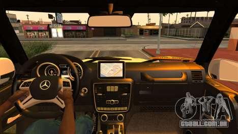 Mercedes-Benz G500 4x4 para GTA San Andreas vista direita