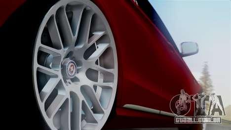 Mercedes-Benz W212 E63 AMG para GTA San Andreas traseira esquerda vista