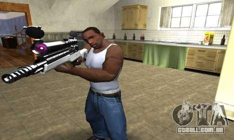 Bitten Sniper Rifle para GTA San Andreas segunda tela