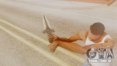 Dragon Dagger para GTA San Andreas terceira tela