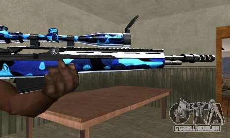 Water Sniper Rifle para GTA San Andreas segunda tela