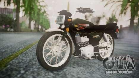 Suzuki AX 100 para GTA San Andreas