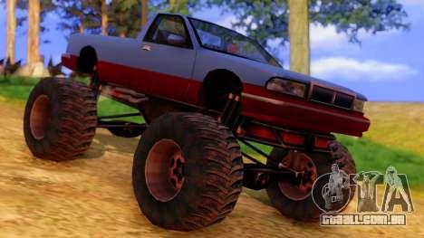 Premier Monster para GTA San Andreas vista direita