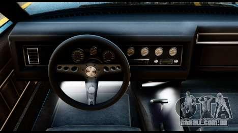 GTA 5 Vapid Chino Stock para GTA San Andreas traseira esquerda vista