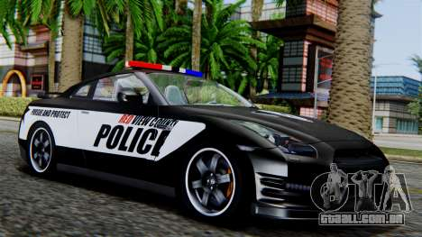 NFS Rivals Nissan GT-R R35 para GTA San Andreas