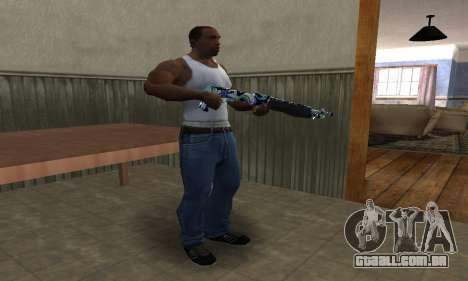 Limeyond Combat Shotgun para GTA San Andreas terceira tela