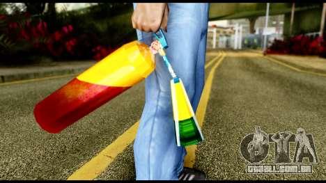 Brasileiro Fire Extinguisher para GTA San Andreas terceira tela
