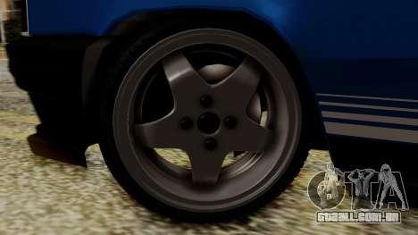 Renault 11 Turbo para GTA San Andreas traseira esquerda vista