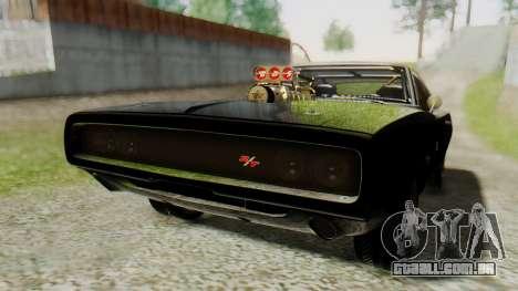 Dodge Charger RT 1970 Fast & Furious para GTA San Andreas