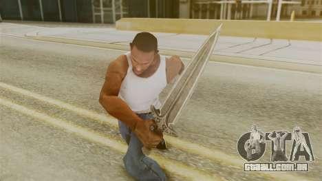 Steel Dagger para GTA San Andreas terceira tela