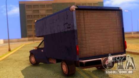 Premier Truck para GTA San Andreas esquerda vista