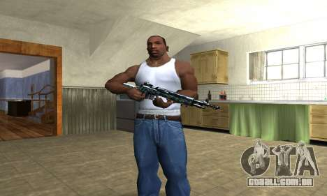 Green Forest Rifle para GTA San Andreas terceira tela