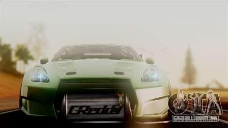 Nissan GT-R R35 Bensopra 2013 para GTA San Andreas