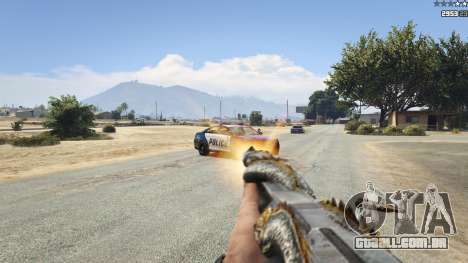 GTA 5 CFs Thompson Infernal Dragon sétima screenshot