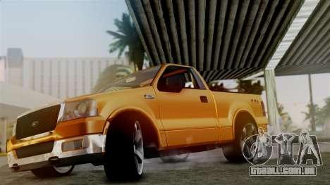 Ford F-150 Sport para GTA San Andreas vista direita