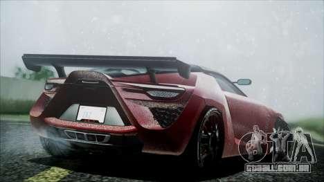 Bertone Mantide 2010 para GTA San Andreas esquerda vista