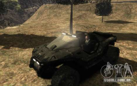 Conselho de segurança DA onu M12 warthog do Halo para GTA 4 traseira esquerda vista