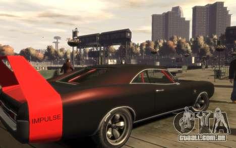 Dukes Impulse Daytona Tuning para GTA 4 vista direita