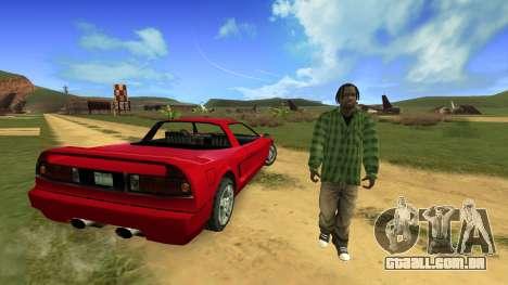 No Shadows para GTA San Andreas segunda tela