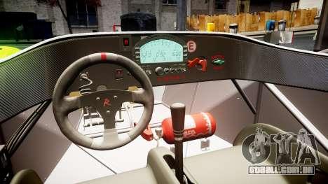 Radical SR8 RX 2011 [23] para GTA 4 vista interior