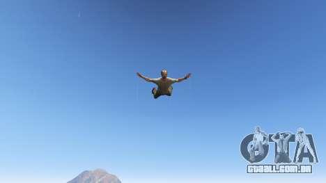 GTA 5 Superhero quinta imagem de tela