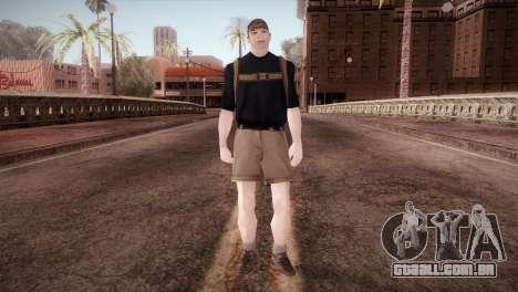 Estudante para GTA San Andreas segunda tela