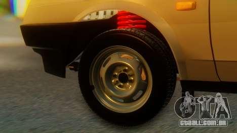 VAZ 21099 Stoke para GTA San Andreas traseira esquerda vista