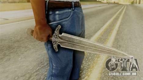 Steel Dagger para GTA San Andreas segunda tela