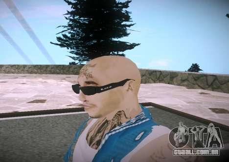 Asesinos Loco HQ Skin para GTA San Andreas terceira tela
