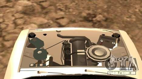 CAÇADOR 2106 Ostentum para GTA San Andreas vista direita