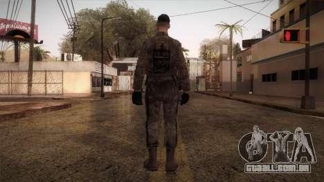 Army MARPAT para GTA San Andreas terceira tela