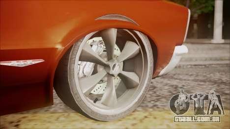 Pontiac GTO 1965 para GTA San Andreas vista direita