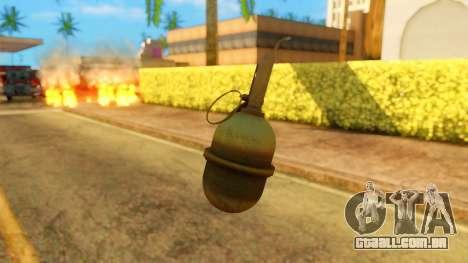 Atmosphere Grenade para GTA San Andreas terceira tela