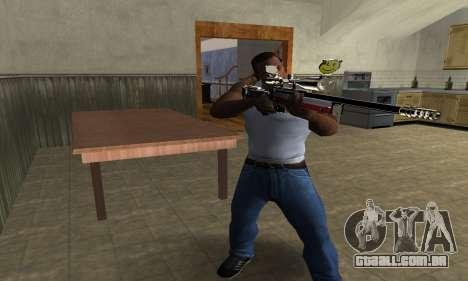 American Sniper para GTA San Andreas terceira tela