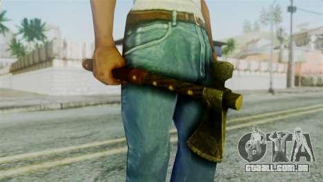 Tomahawk from Silent Hill Downpour para GTA San Andreas terceira tela