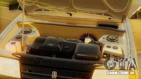 VAZ 21099 Stoke para GTA San Andreas vista superior