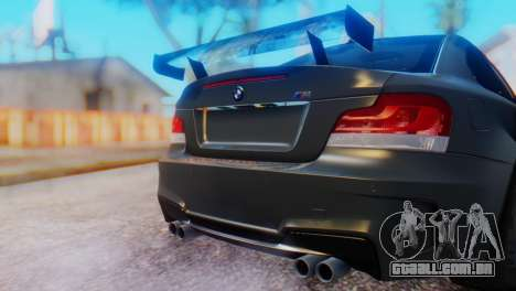 BMW M1 Tuned para GTA San Andreas vista traseira