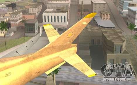 GTA 5 Besra para GTA San Andreas traseira esquerda vista