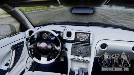 NFS Rivals Nissan GT-R R35 para GTA San Andreas vista direita