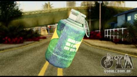 Brasileiro Grenade para GTA San Andreas segunda tela