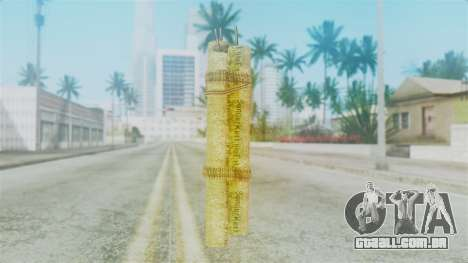Red Dead Redemption Satchel para GTA San Andreas